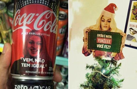 A Coca-Cola da Pabllo Vittar é a prova de que este Natal vai ser babado