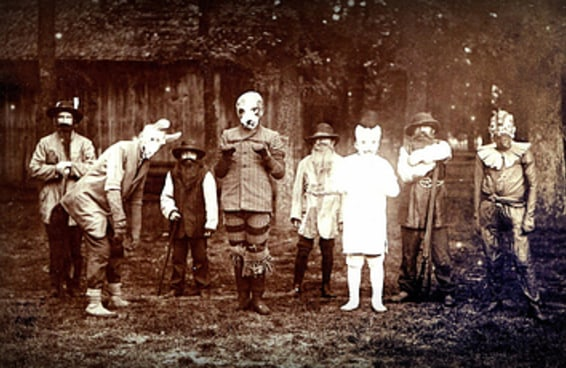 21 fotos que provam que o Dia das Bruxas já foi bem mais assustador