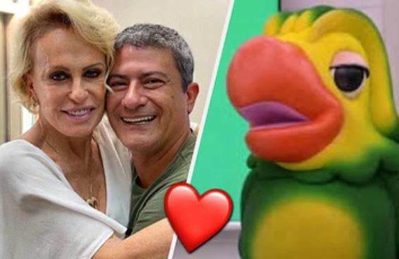 Ana Maria Braga homenageia Tom Veiga no Mais Você