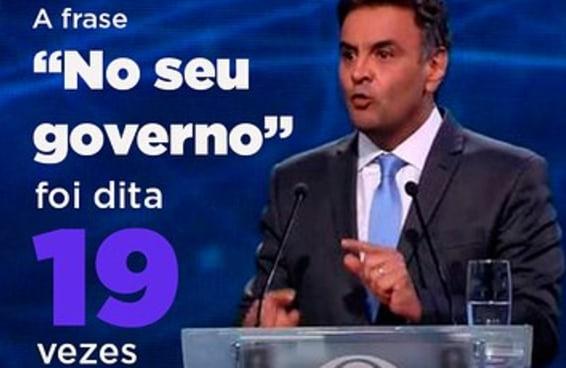 Contamos quantas vezes Dilma e Aécio repetiram palavras e clichês durante o debate na Band