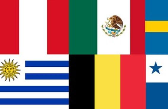 Você manja das bandeiras dos países da Copa do Mundo?