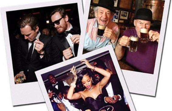 Com qual famoso você deveria tomar um porre?