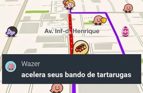 14 conversas que provam que o Waze brasileiro é terra de ninguém