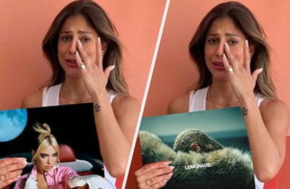 Qual Mari Gonzalez segurando um disco icônico é você?