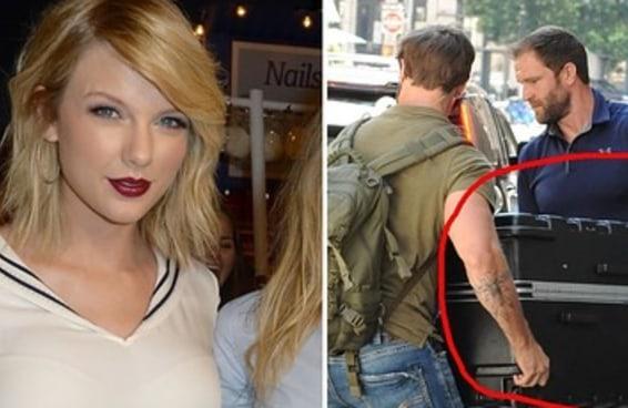 Existe uma teoria que a Taylor Swift andou por aí dentro de uma mala para escapar dos paparazzi
