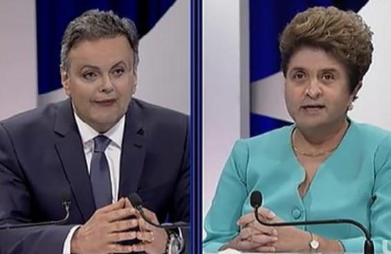 Podemos adivinhar se você vai votar no Aécio ou na Dilma?
