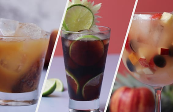 Drinks para o carnaval