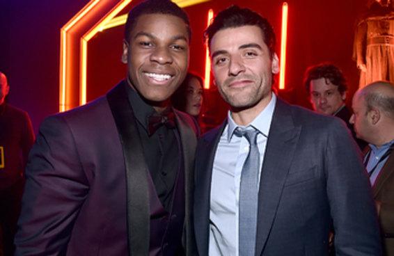 """Oscar Isaac estava pronto para interpretar o namorado de John Boyega em """"Star Wars"""", mas disse que as """"pessoas têm medo demais"""""""