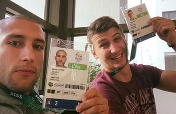 Brasileiros estão ajudando atletas palestinos que ficaram sem uniformes