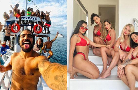 Pandemia para quem? A vida de muita celebridade brasileira parece normal