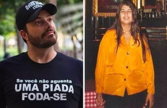 Manuela D'Ávila pisou com bondade em Danilo Gentili após piadas gordofóbicas do humorista