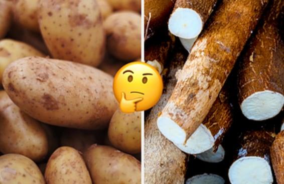Este teste cruel vai te fazer escolher entre a batata e a mandioca