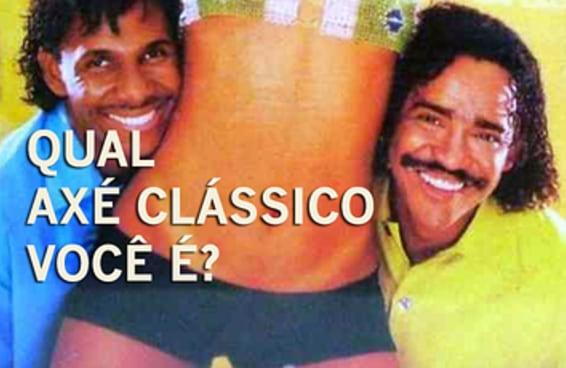 Qual axé clássico você é?