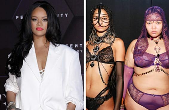 O Savage X Fenty Lingerie Show da Rihanna foi o mais variado e os fãs estão emocionados com isso