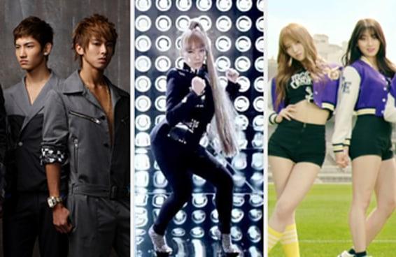 64 músicas que fizeram as pessoas se apaixonarem pelo k-pop