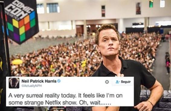 Assista a uma multidão de brasileiros desesperada ao ver Neil Patrick Harris