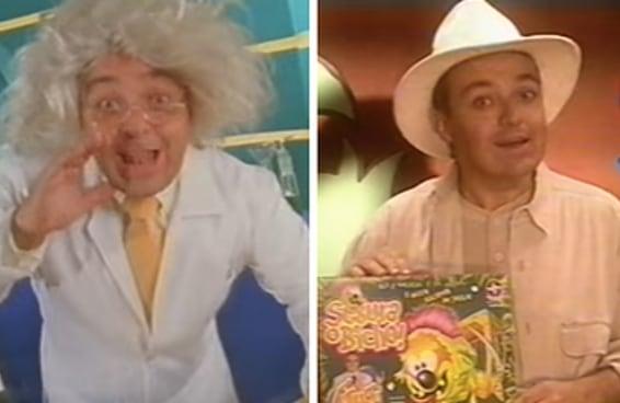 O segredo do Gugu para vender brinquedo nos anos 90 era estar sempre fantasiado