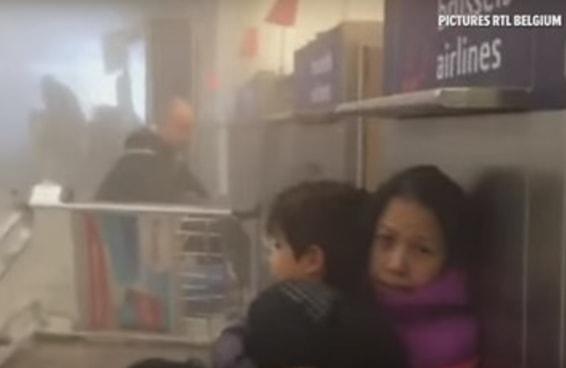 Vídeo mostra pessoas presas no aeroporto e no metrô após ataques em Bruxelas