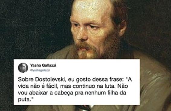 Como o escritor russo Dostoiévski foi parar nos trending topics do Twitter brasileiro