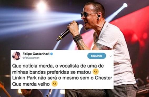 Fãs brasileiros lamentam morte de Chester, vocalista do Linkin Park