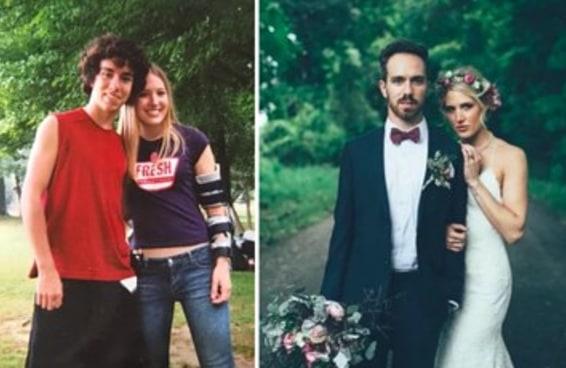 Uma garota impediu que seu amigo se suicidasse, e hoje eles estão casados
