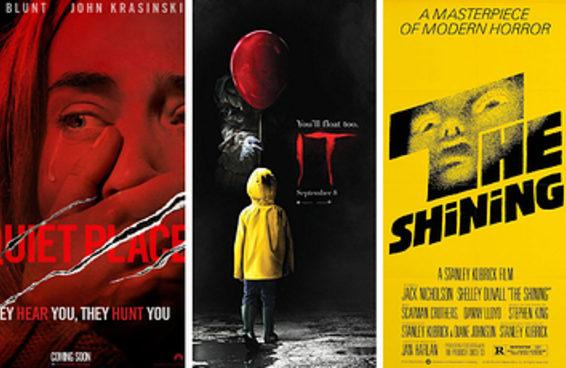 Quantos dos filmes de terror mais populares de todos os tempos você já viu?
