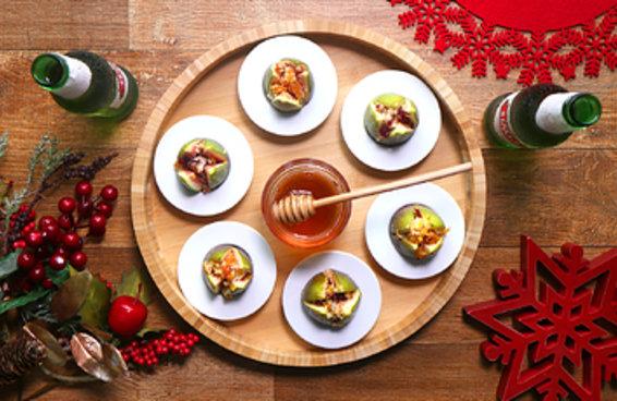 Estes figos recheados vão deixar o seu Natal muito mais saboroso e sofisticado