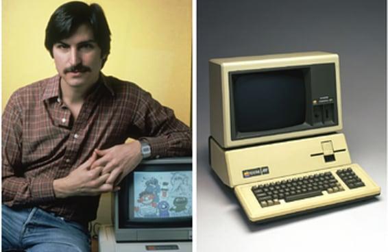 Veja como era a Apple em seus primeiros anos de existência