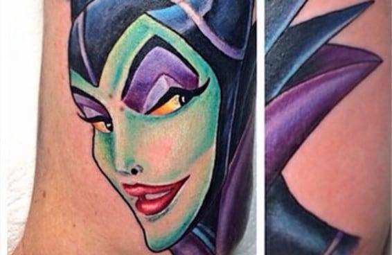 25 tatuagens de vilões da Disney lindas de morrer