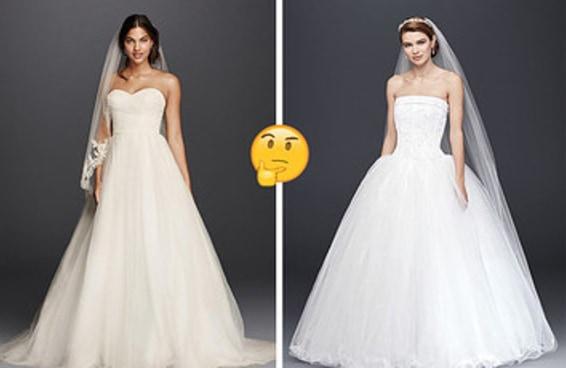 Escolha entre esses vestidos de noiva e revelaremos com que idade você vai casar