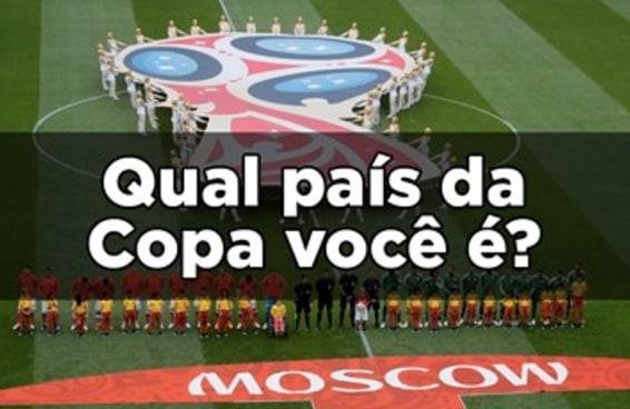 Qual país da Copa você é?