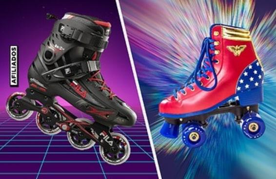 8 patins diferentes para quem quer se exercitar com estilo