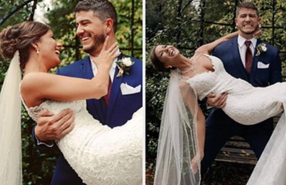 """Amber, de """"Casamento às Cegas"""", abriu o jogo sobre seu casamento com Barnett 18 meses após o fim do programa"""
