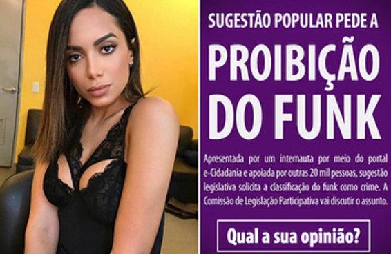Uma proposta para criminalizar o funk chamou a atenção no Facebook do Senado