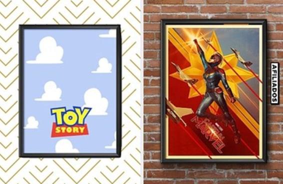 10 cartazes de filmes para decorar as paredes da sua casa