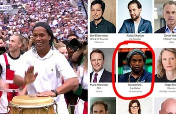 O Ronaldinho Gaúcho já fez do rolê aleatório um estilo de vida e não vai parar