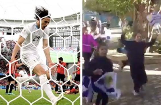O vídeo destas crianças uruguaias vendo o jogo da Copa vai aquecer seu coração