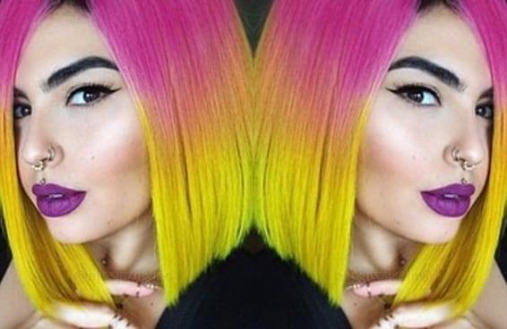 Essas perucas coloridas provam que cabelos artificiais são lindos