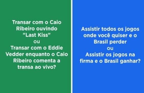 10 dilemas sobre a Copa impossíveis de responder