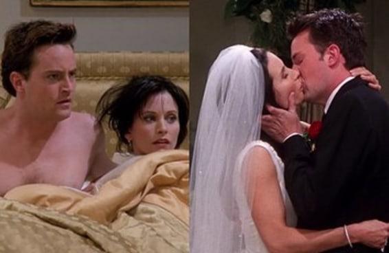 Há algo meio confuso no relacionamento do Chandler e da Monica que talvez você nunca tenha notado