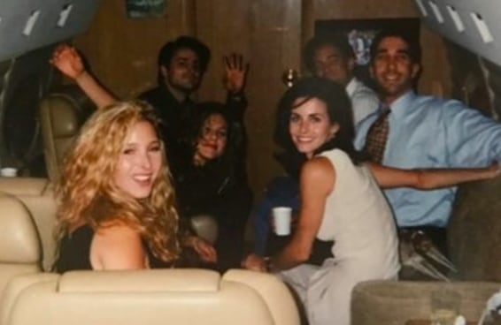 """Courteney Cox publicou uma foto de """"Friends"""" com uma emocionante história por trás"""