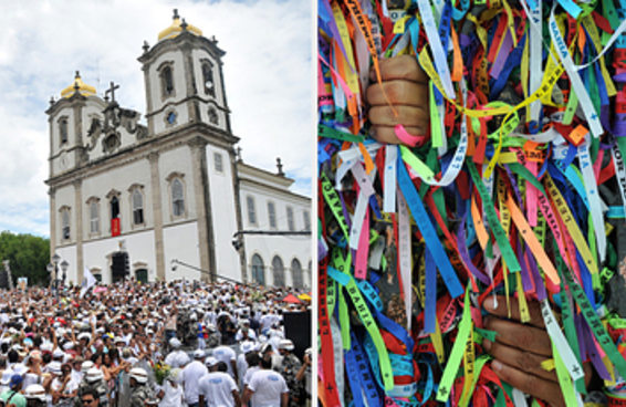 10 Momentos incríveis da Lavagem do Bonfim em Salvador