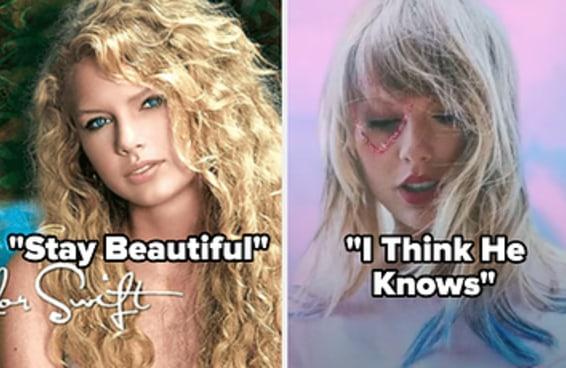 Que música da Taylor Swift descreve melhor seu crush?