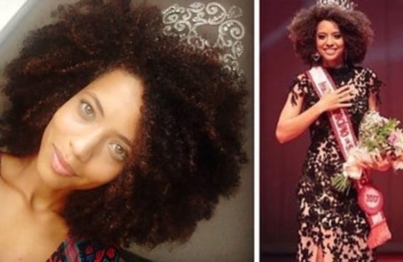 A Miss São Paulo manda avisar que a coroa encaixa no black, sim