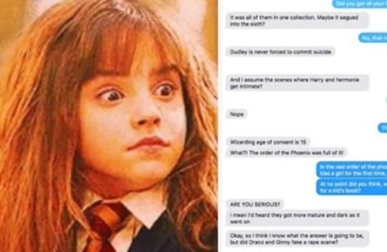 """Este cara leu uma fan fiction erótica de Harry Potter achando que era a """"Ordem da Fênix"""""""