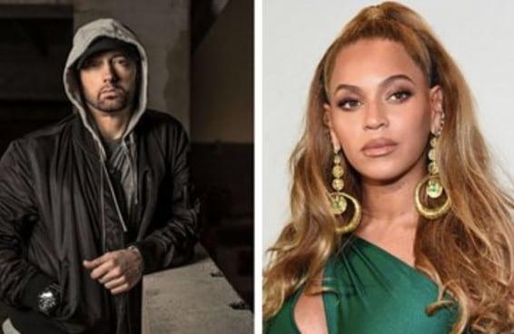 A Beyoncé tá metida com o Eminem e nós estamos com o coração partido