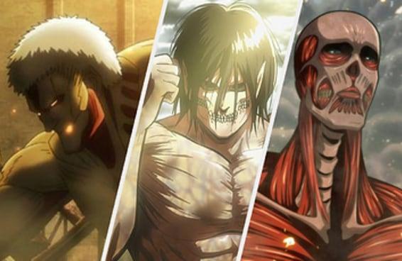 Qual seria seu poder em Attack on Titan?