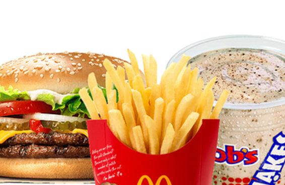 Você consegue adivinhar quantas calorias há nestas comidas de fast food?