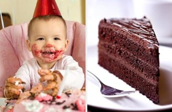 Monte um bolo e diremos quantos filhos você vai ter