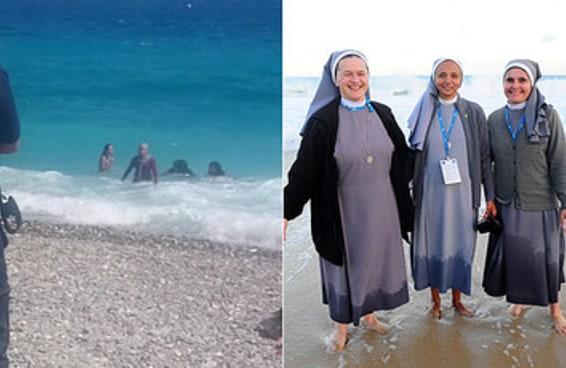 A polícia francesa forçou uma muçulmana a tirar suas roupas na praia e as pessoas ficaram horrorizadas